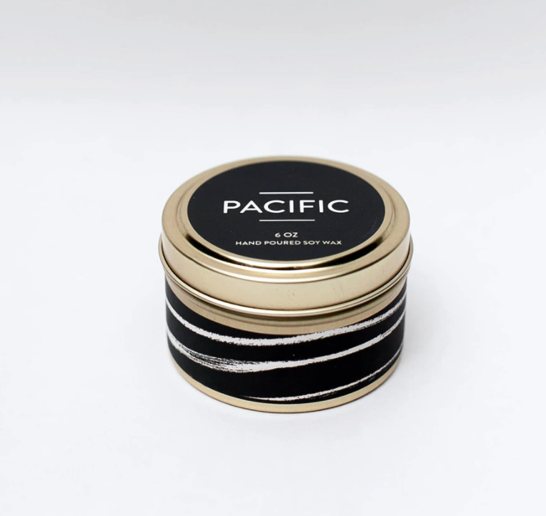 Pacific Travel Tin Candle 6oz