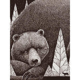 Sleeping Bear Print 18x24