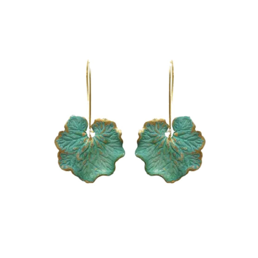 Anna Leaf Earrings