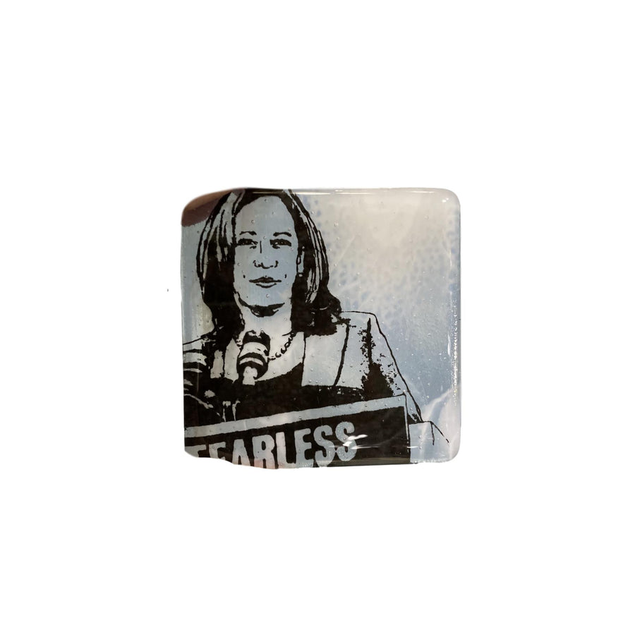 Glass Coaster - Kamala Harris