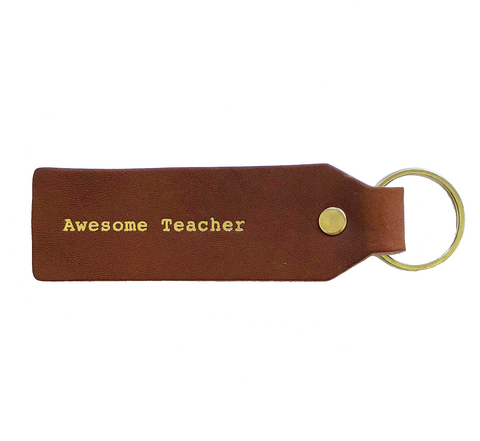 Awesome Teacher Key Tag