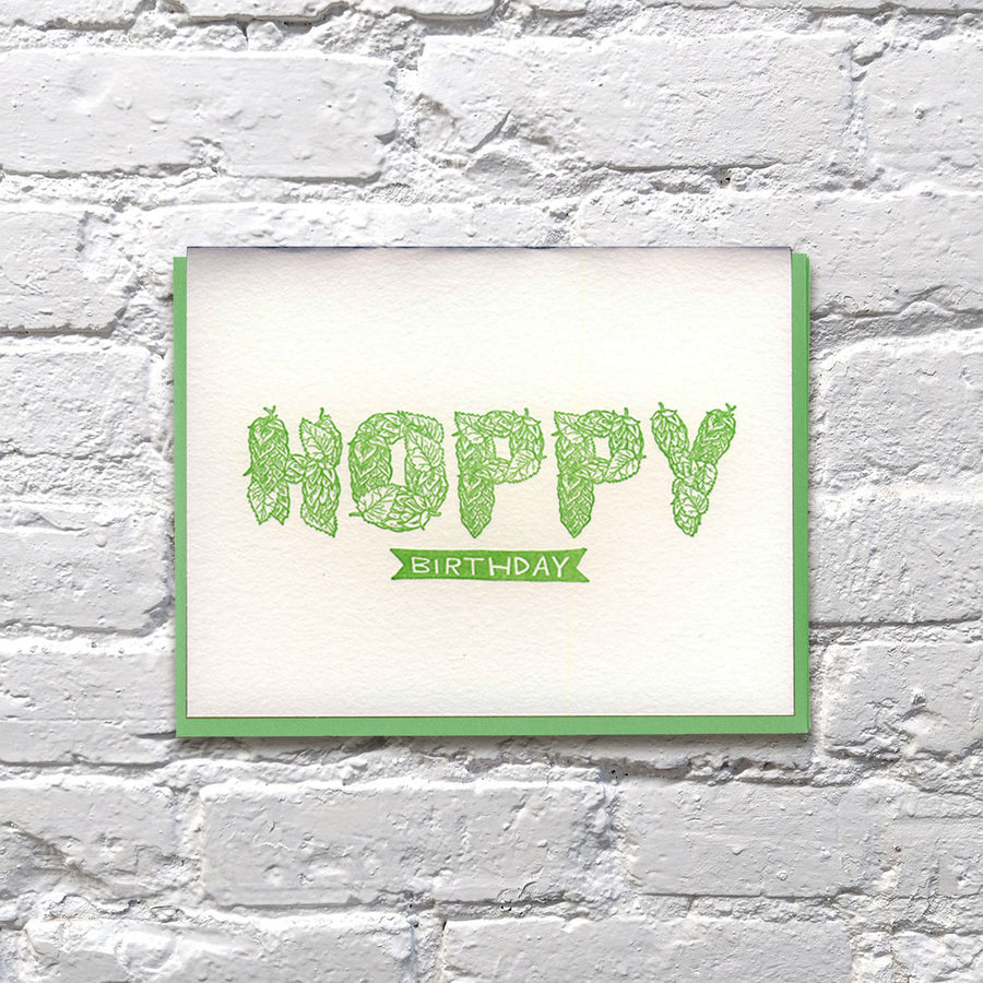 Hoppy Birthday Card - BP6