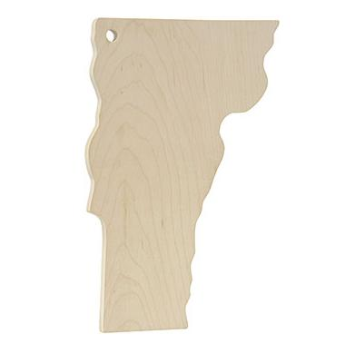 Vermont Shaped Cutting Board