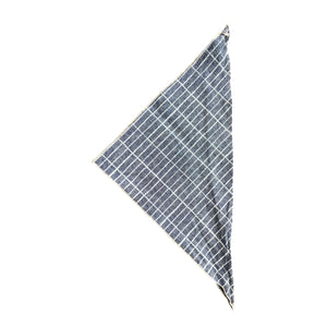 Dog Bandana - Picnic Table Blue