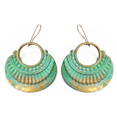 Agea Round Earrings