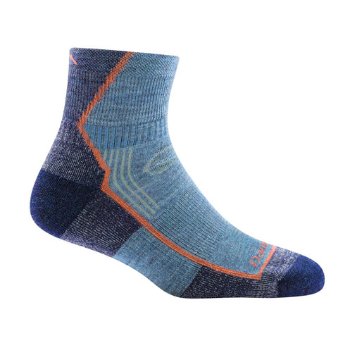 Darn Tough Hiker 1/4 Cushion Women's Sock - Denim