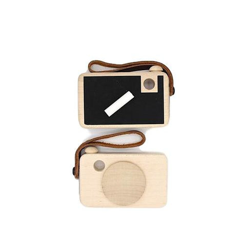 Say Cheese 2.0 Wooden Camera Toy with Chalkboard Viewfinder
