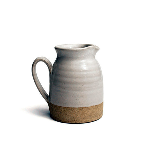 Farmhouse Pottery Stoneware Bell Pitcher