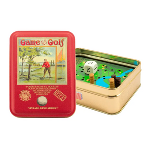 Game of Golf in a Vintage Tin