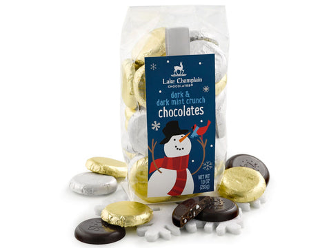 Winter Chocolate Coins