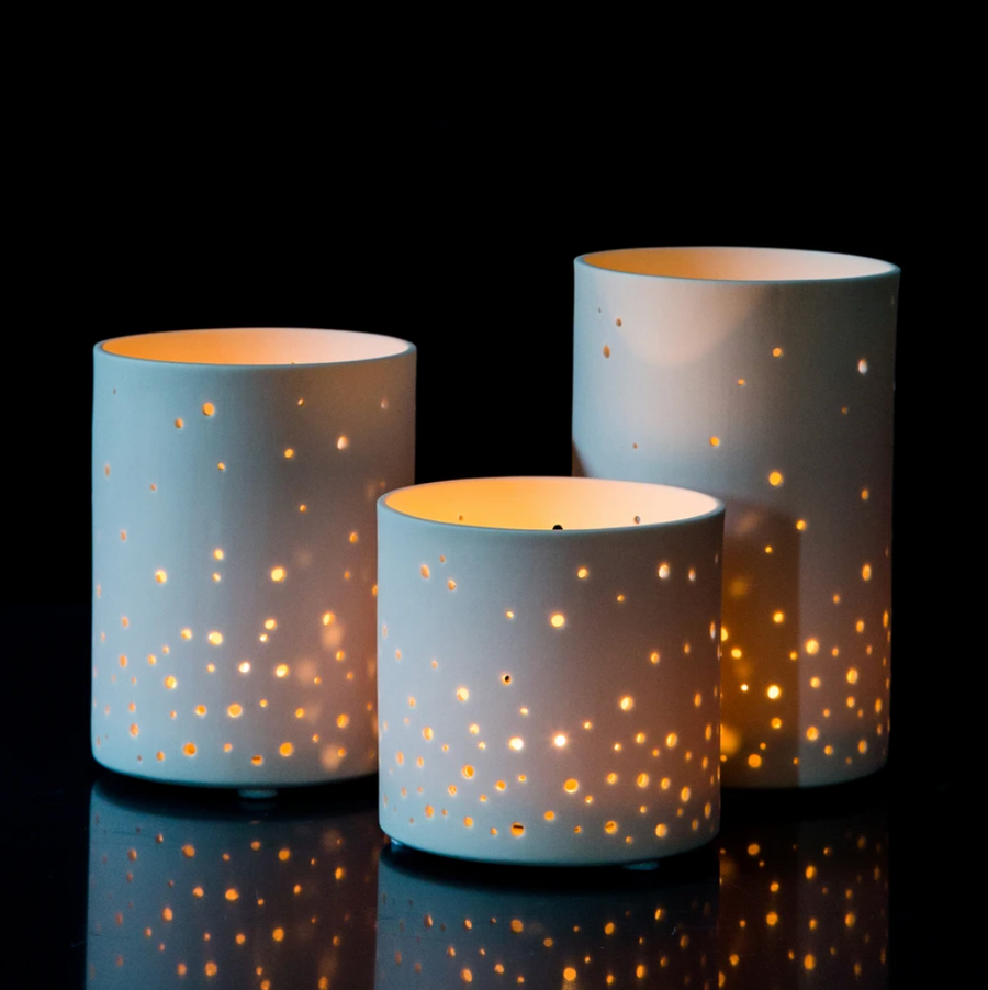 Starry Sky Votive- 5 inch (PICK UP or DELIVERY ONLY!)