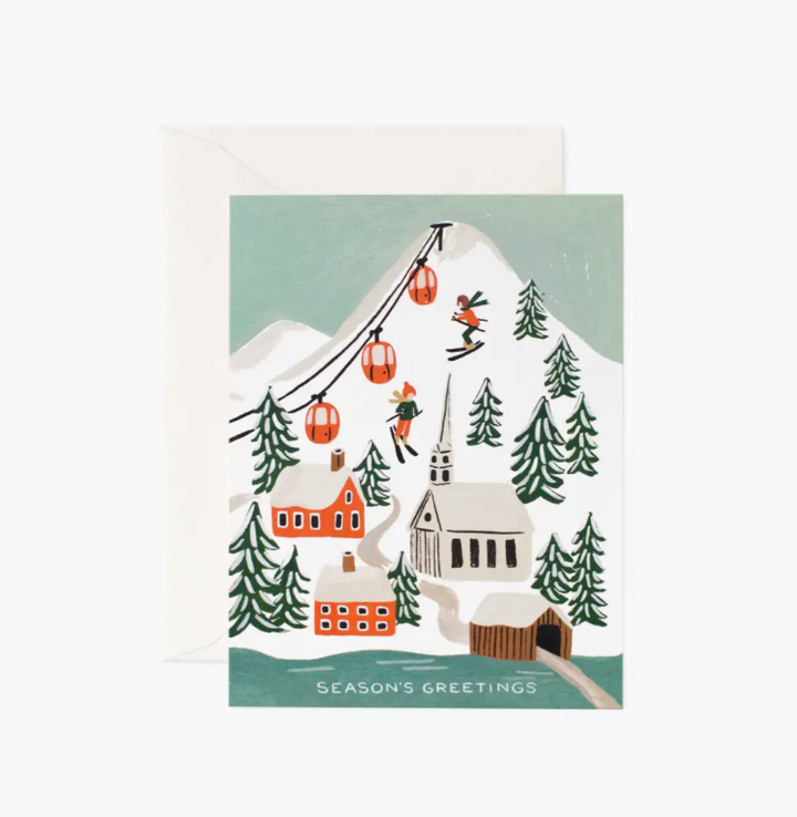 Holiday Snow Scene Boxed Set of Cards