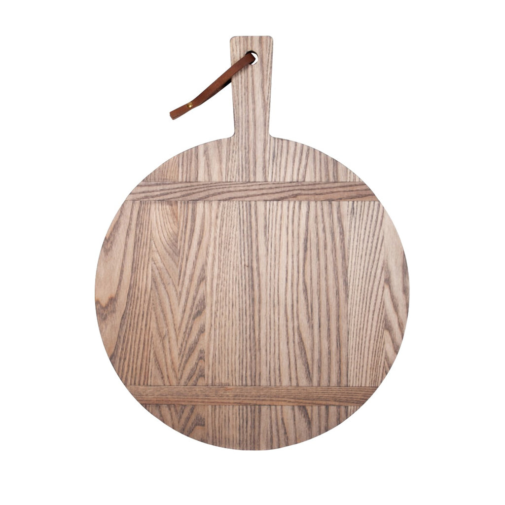Round Driftwood Serving Board
