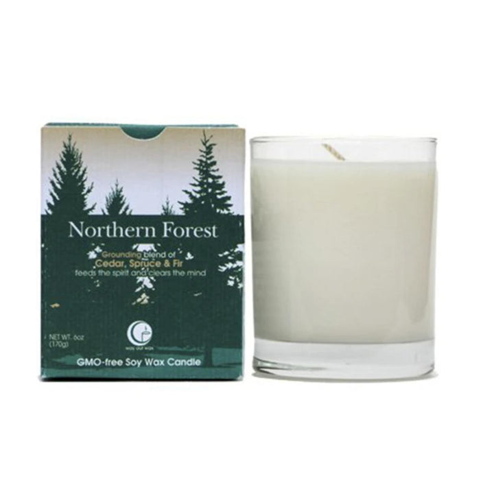 Vermont-Made Northern Forest Candle - 6oz