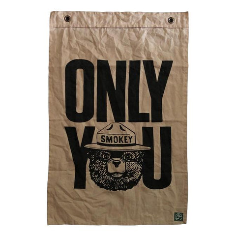 "Smokey The Bear ""Only You"" Flag"