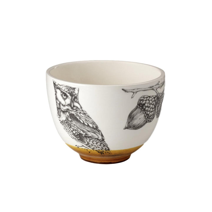 Laura Zindel Small Bowl - Screech Owl #1
