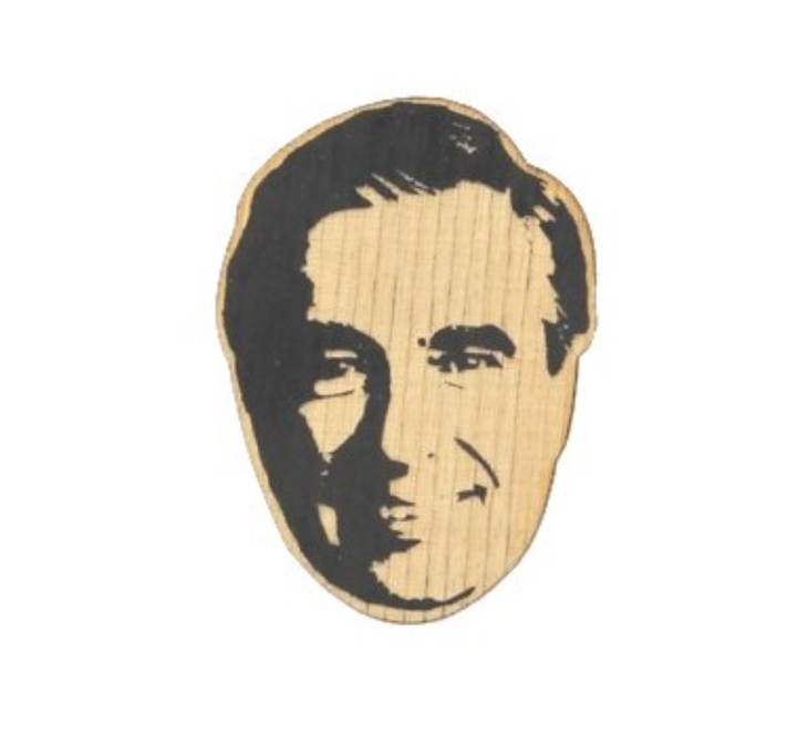Famous Face Ornament - Mr. Rogers