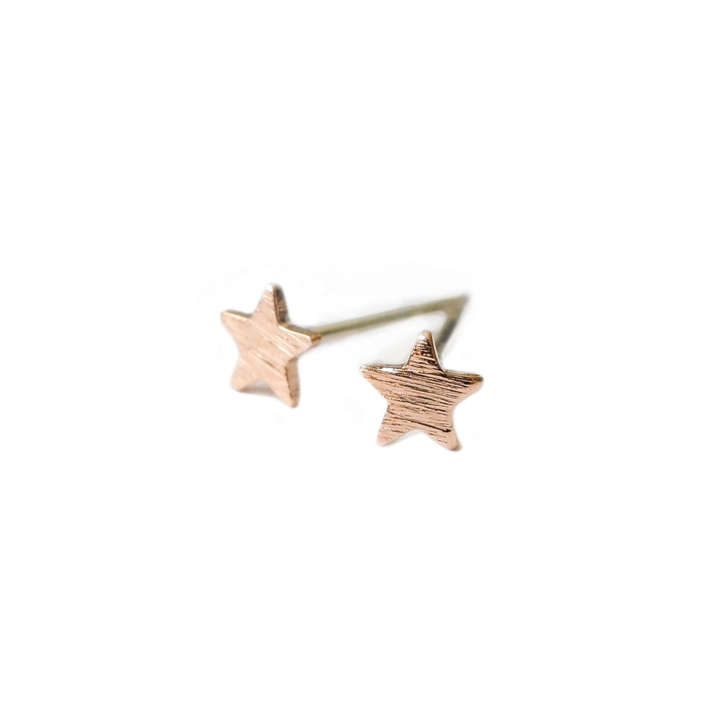 Teeny Star Studs
