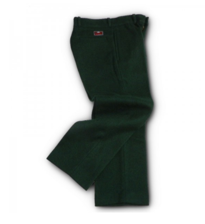 Famous Spruce Green Wool Pants Made in Vermont