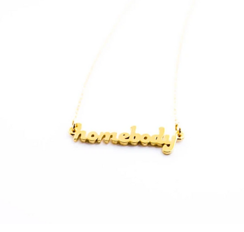 Homebody Necklace 14k Gold Fill