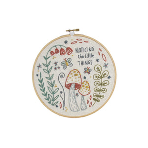 Little Truths Embroidery Kit - Noticing
