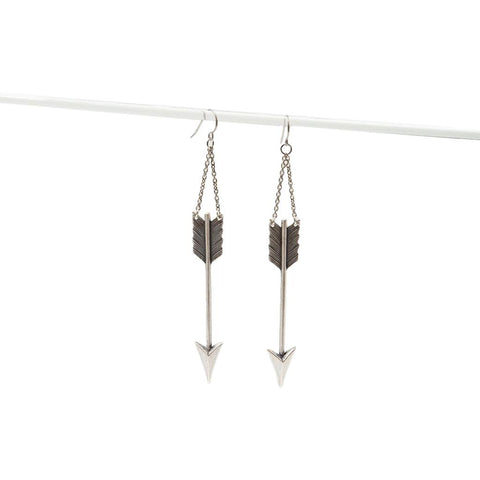 Big Arrow Earrings