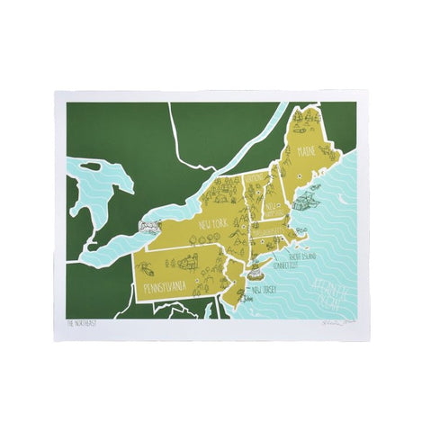 The Northeast Print