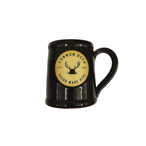 Common Deer Goods Made Here Mug - Black