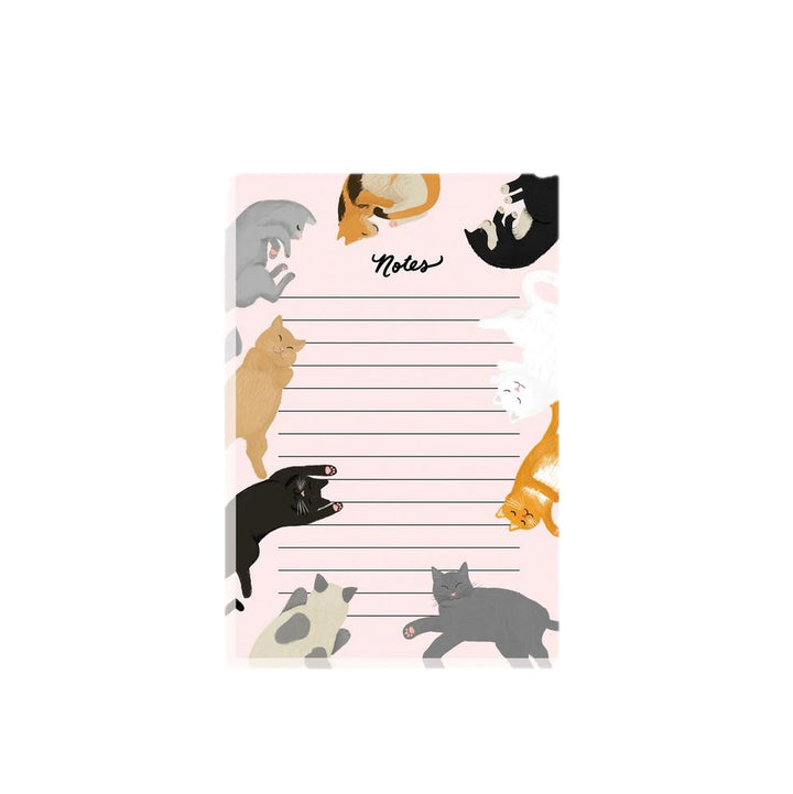 Cat Lined Notepad