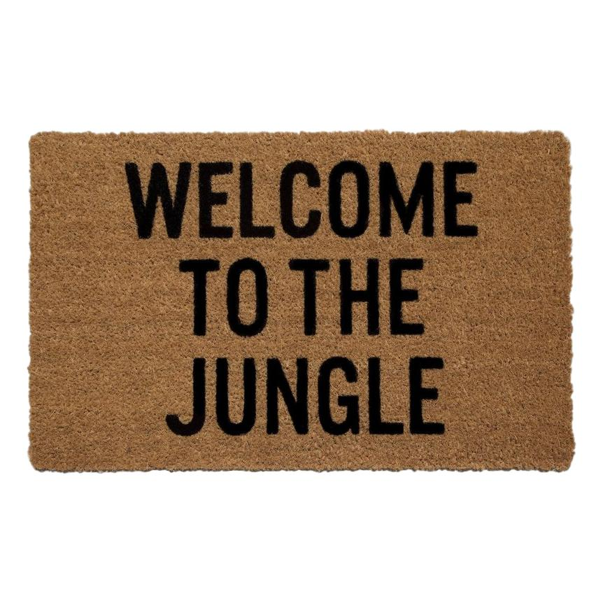 """Welcome to the Jungle"" Doormat"