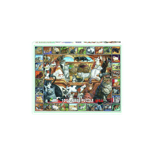 World of Cats 1000 Piece Puzzle