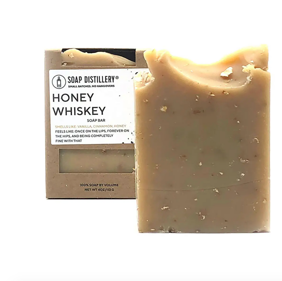 Honey Whiskey Soap Bar