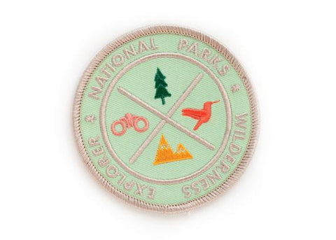 National Park Explorer Iron-on Patch