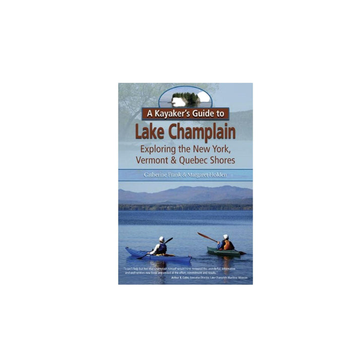 Kayaker's Guide to Lake Champlain Book