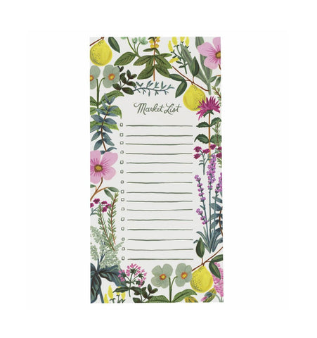 Herb Garden Market Pad with Magnet