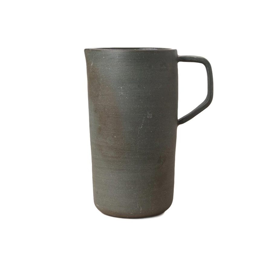 Ceramic Pitcher Stained Grey