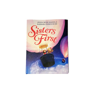 Sisters First Harcover Illustrated Book