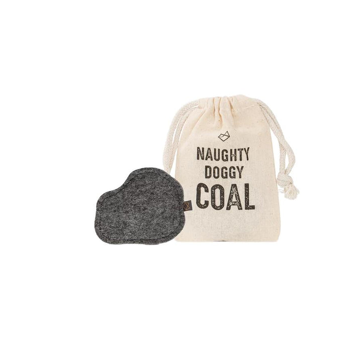Squeaky Coal for Naughty Doggies