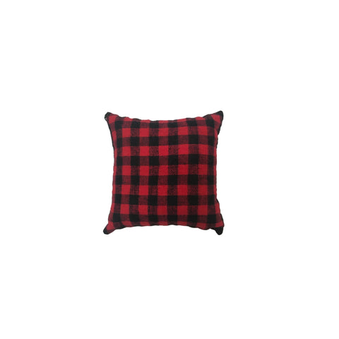Small Red Buffalo Check Balsam Pillow