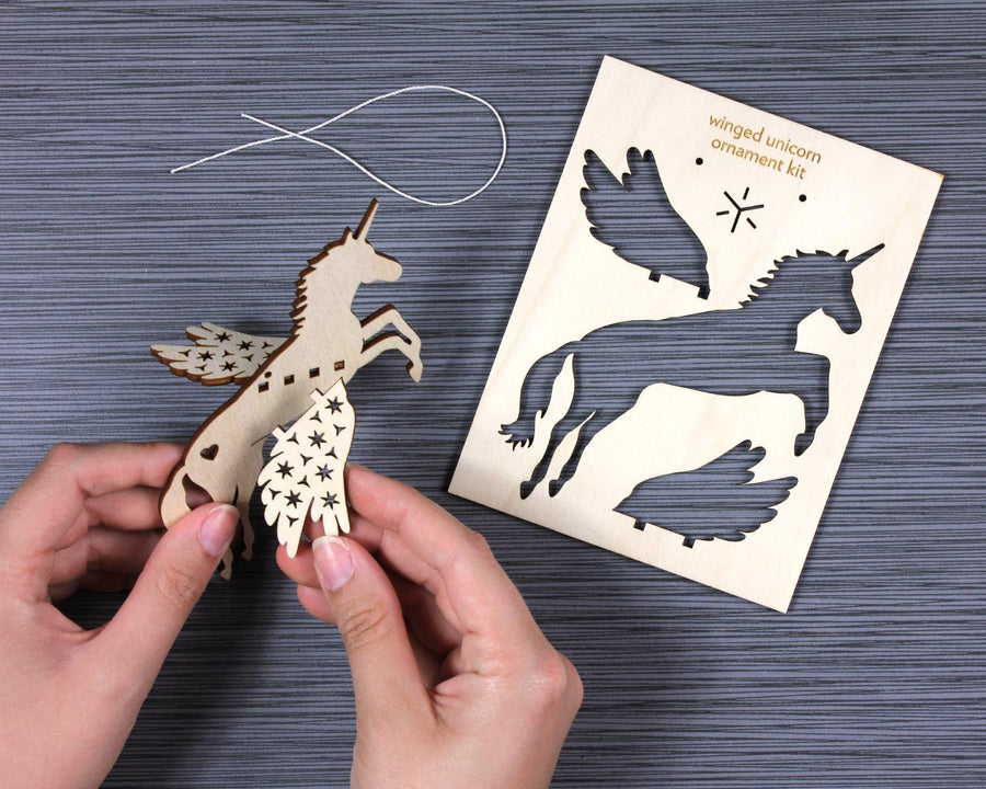 Build-Your-Own Animal Ornament Flatpack Kit