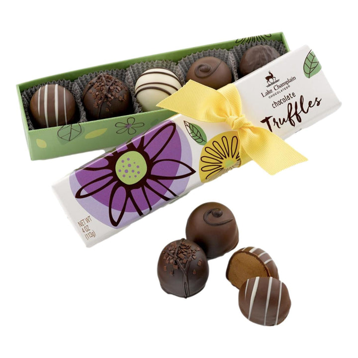 Spring Chocolate Truffles - 5pc Box