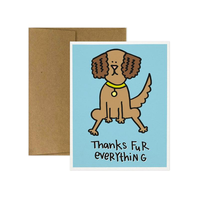 Thanks Fur Everything Card - TG