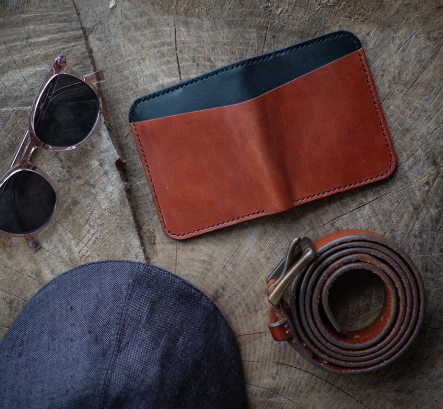 Flatlander Supply Co Hand-Stitched Positive Signal Wallet