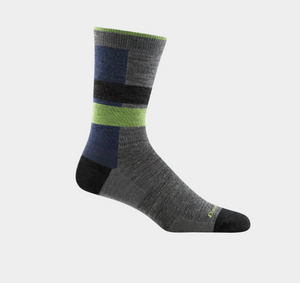 Men's Merino Wool Eclipse Sock - Gray