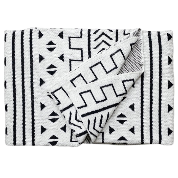 Mali Throw Blanket - White