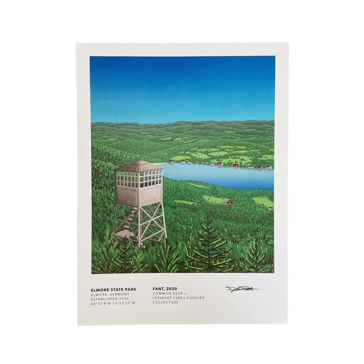Vermont Parks Collection Print: Elmore State Park