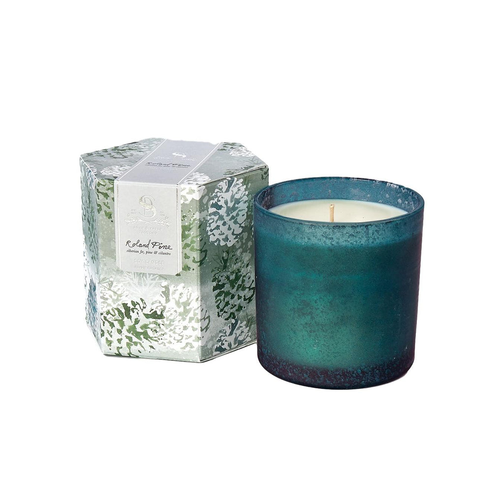 Pine Artisan Single Wick Candle