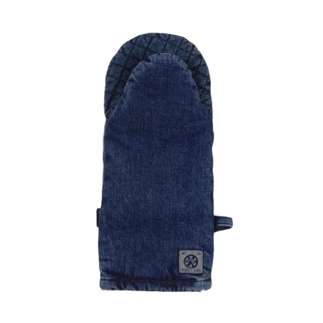 Handcrafted Denim Oven Mitt
