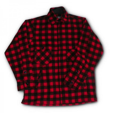 Johnson Woolen Mills Women's Buffalo Check Red and Black Jac Shirt