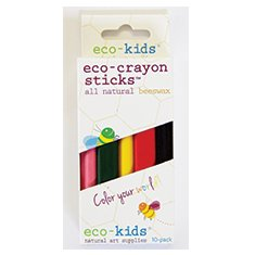 Eco-Kids Eco-Crayon Sticks 10 Pack
